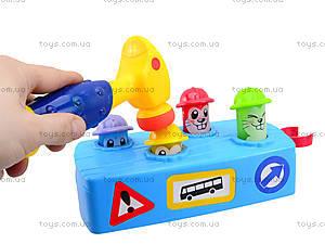 Музыкальная детская игрушка «Молоточек и скамья», 589, игрушки