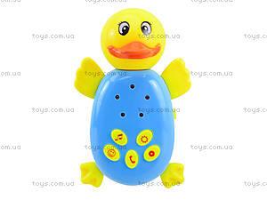 Музыкальная игрушка-веселушка «Уточка», 6689-1, отзывы