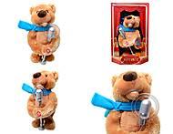 Интерактивная игрушка «Артист - медведь», CL1600B, фото