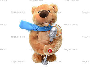 Интерактивная игрушка «Артист - медведь», CL1600B, игрушки