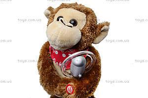 Музыкальная игрушка «Артист - обезьяна», CL1600C, фото