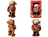 Музыкальная игрушка «Артист - обезьяна», CL1600C