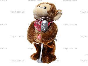 Музыкальная игрушка «Артист - обезьяна», CL1600C, игрушки