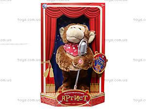 Музыкальная игрушка «Артист - обезьяна», CL1600C, детские игрушки