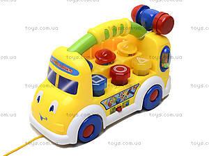 Музыкальный развивающий грузовик , 7070, игрушки