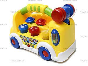 Музыкальный развивающий грузовик , 7070, детские игрушки