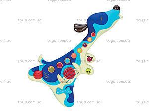 Детская музыкальная игрушка «Пес-гитарист», BX1206Z, игрушки