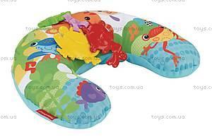 Массажная подушка для игры на животике «Тропические друзья», CDR52