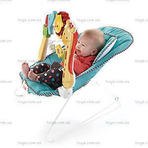 Музыкальное массажное кресло Fisher-Price «Растем вместе», BFB14, купить