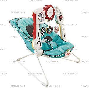 Музыкальное массажное кресло Fisher-Price «Растем вместе», BFB14