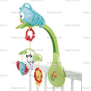 Музыкальный мобиль Fisher-Price «Веселый попугай», CHR11, фото