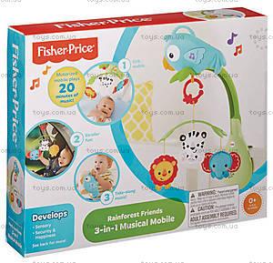 Музыкальный мобиль Fisher-Price «Веселый попугай», CHR11, цена