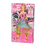 Музыкальная Барби (розовая юбка), JX600-21, фото