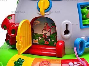 Музыкальная детская игрушка «Дом-гриб», 2208, купить