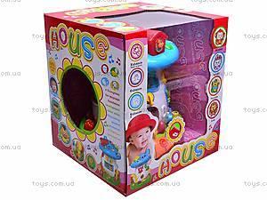 Музыкальная детская игрушка «Дом-гриб», 2208, фото