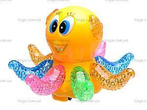 Музыкальная детская игрушка «Осьминог», 803, фото