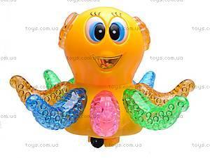 Музыкальная детская игрушка «Осьминог», 803