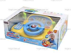 Музыкальная детская игрушка «Руль», BT-5826, детские игрушки
