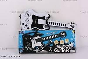 Музыкальная гитара с микрофоном, HK-983