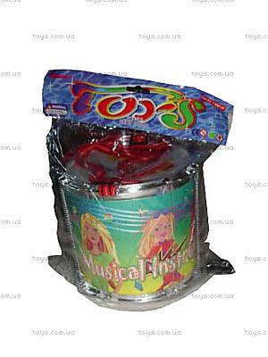 Музыкальная игрушка «Барабан», 555-1A