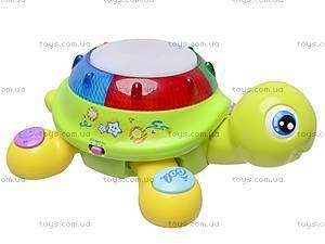 Музыкальная игрушка «Чудо-черепашка», 9360, игрушки