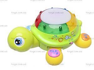 Музыкальная игрушка «Чудо-черепашка», 9360, детские игрушки