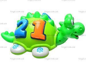 Музыкальная игрушка «Динозавр» для детей, 005, игрушки