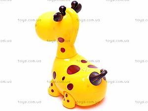 Музыкальная игрушка «Жирафик», 9911-1, игрушки