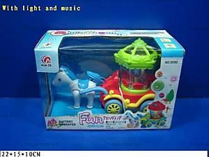 Музыкальная игрушка «Карета», 30302