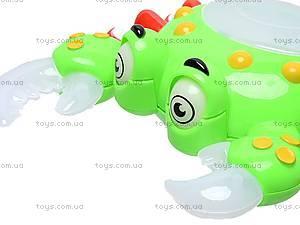 Музыкальная игрушка «Крабик», 356, игрушки