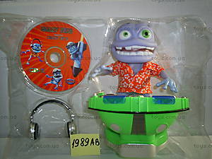 Музыкальная игрушка «Крейзи Фрог» + CD, 1989АВ