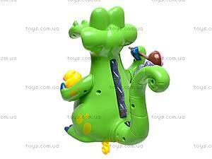 Музыкальная игрушка «Крокодильчик», 8838, купить