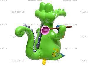 Музыкальная игрушка «Крокодильчик», 8838, фото