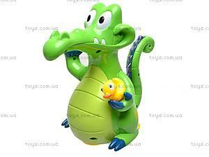 Музыкальная игрушка «Крокодильчик», 8838