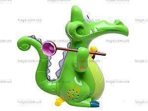 Музыкальная игрушка «Крокодильчик», 8838, отзывы