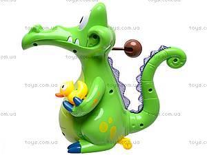 Музыкальная игрушка «Крокодильчик», 8838, цена