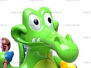 Музыкальная игрушка «Крокодильчик», 8838, игрушки