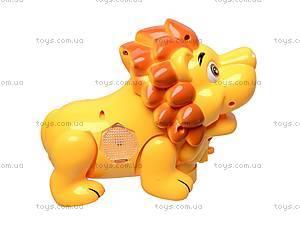 Музыкальная игрушка «Лев», SL6688-1, детские игрушки
