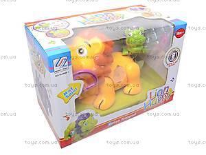 Музыкальная игрушка «Лев», SL6688-1, toys.com.ua