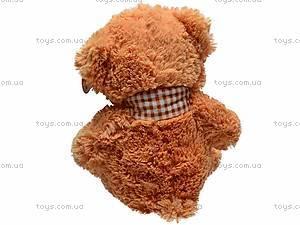 Музыкальная игрушка «Медведь в шарфике», S-JY-3660/30S, фото