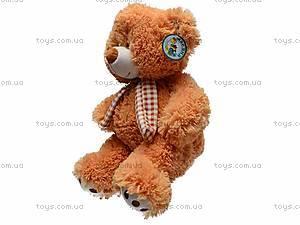 Музыкальная игрушка «Медведь в шарфике», S-JY-3660/30S, детские игрушки