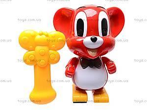 Музыкальная игрушка «Мышонок Рикки», 2083, игрушки
