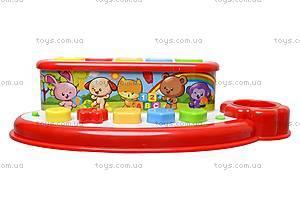 Музыкальная игрушка «Оркестр со зверятами», 900305, игрушки