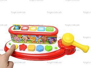 Музыкальная игрушка «Оркестр со зверятами», 900305, детские игрушки