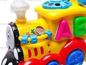 Музыкальная игрушка «Паровозик», 003, фото