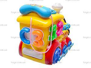 Музыкальная игрушка «Паровозик», 003, игрушки
