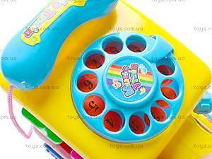 Музыкальная игрушка «Паровозик», 003, детские игрушки