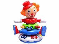 Музыкальная игрушка-пирамидка «Клоун», BB368, фото