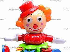Музыкальная игрушка-пирамидка «Клоун», BB368, отзывы