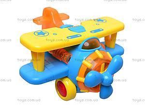 Музыкальная игрушка «Самолетик», 9102